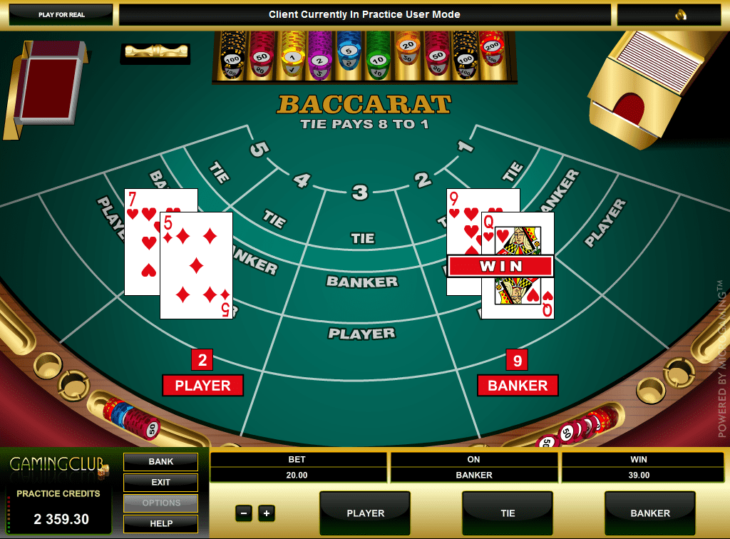 baccaratカジノ