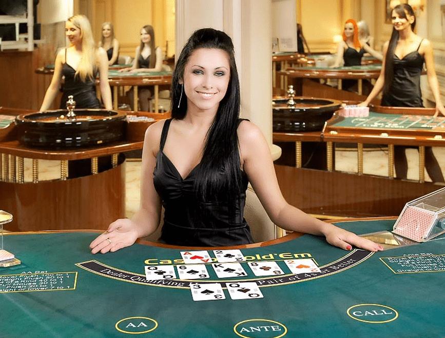 ライブカジノポーカー