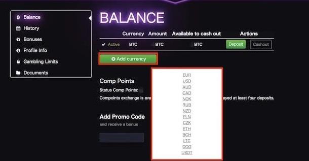 7ビットカジノ入金
